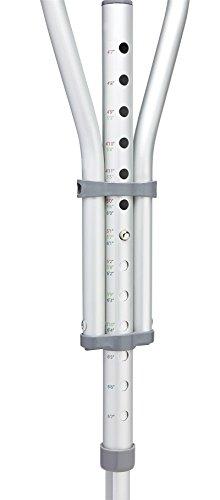 Quick Fit Crutches (Medline MDS80540 Quick-Fit Aluminum Crutches)