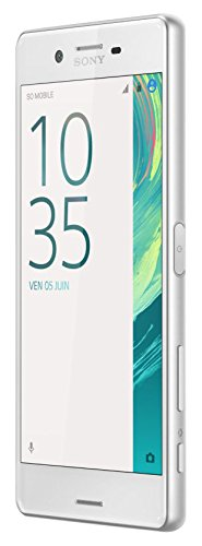 "Sony Xperia X Performance Smartphone Unlocked 4G LTE (Screen: 5"" - 64 GB - Dual Nano-SIM - Android Marshmallow 6.0) (White)"