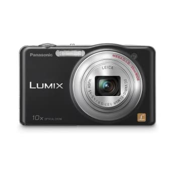 Panasonic Lumix SZ1 16.1 MP Digital Camera with 10x Optical Zoom (Black) (Discontinued by Manufacturer)