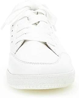 Gabor Toyah Sneaker in Las Vegas Leather White 38 EU White
