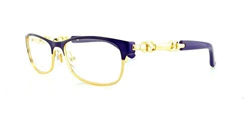 JIMMY CHOO Eyeglasses 78 08T2 Violet Rose Gold 53MM
