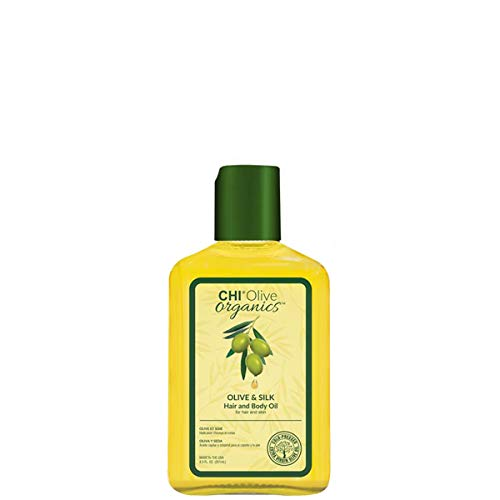 Chi Olive & Silk Hair And Body Oil For Hair And Skin - 8.5oz