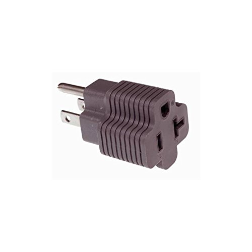 Cerrowire 15 Amp Male to 20 Amp Female Plug Outlet 3 Pron...