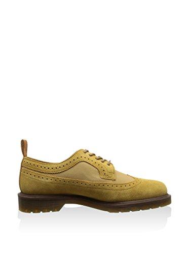 Dr. Martens Core Shreeves, Zapatos de Cordones Brogue Unisex Adulto Giallo