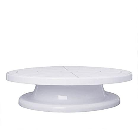 11 revolving rotating cake plate decorating turntable kitchen display stand new electric rotating cake - Turntable Kitchen