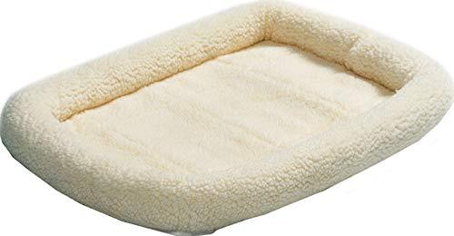 Fleece Quiet Bed - Midwest Quiet Time Fleece Crate Bed 18