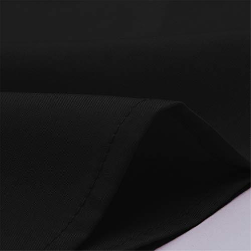 BAOHOKE Summer Fashion Casual Sleeveless Crop Solid Bandage Tops,Vest Sling,t Shirt Tops Blouse v Neck (Black,XXL) by BAOHOKE (Image #6)