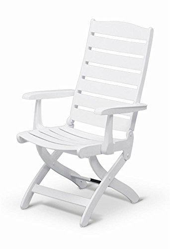 Kettler Caribic High-Back Chair (Back Chairs High White Resin)