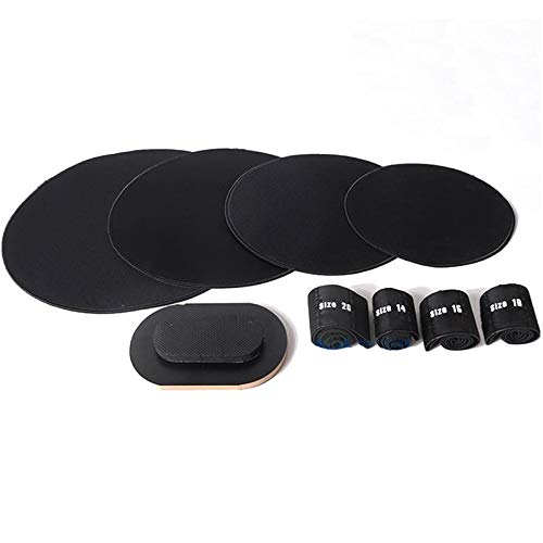 at and Cymbal Mutes Bass Drum Silencer Drumming Practice Pad ()