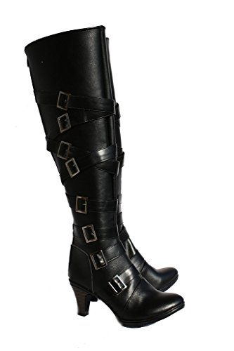 [Black Butler Kuroshitsuji Undertaker Cosplay Shoes Boots Custom Made 3] (Undertaker Childrens Costume)