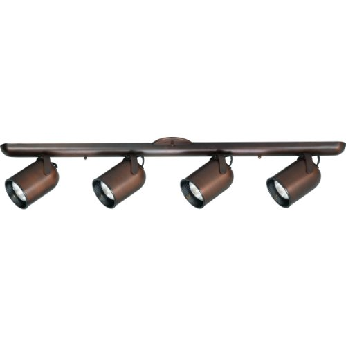 Progress Lighting P6162-174 4-Light Wall Or Ceiling Mount Round Back, Urban Bronze by Progress Lighting (Image #1)