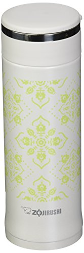 Zojirushi SM-ED30WP Vacuum Insulated Mug Travel, 10 oz, Pearl White