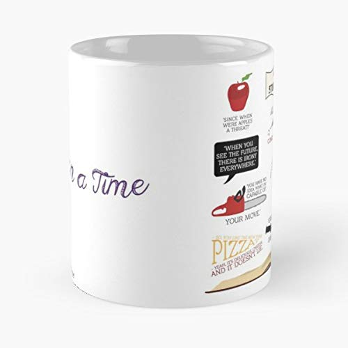 Once Upon A Time Ouat Oncers Abc - The Best Gift For Holidays Coffee Mugs