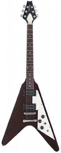 dean flying v guitar - 8