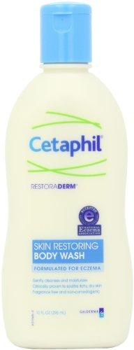 Cetaphil Restoraderm, Peau Restauration Body Wash, formulé pour l'eczéma, 10 onces