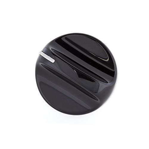 154236401 Dishwasher Timer Knob Genuine Original Equipment Manufacturer (OEM) Part Black