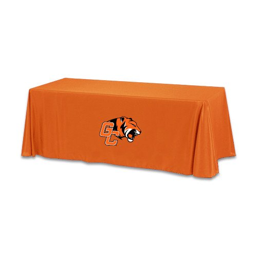 Georgetown Orange 6 foot Table Throw 'Official Logo' by CollegeFanGear