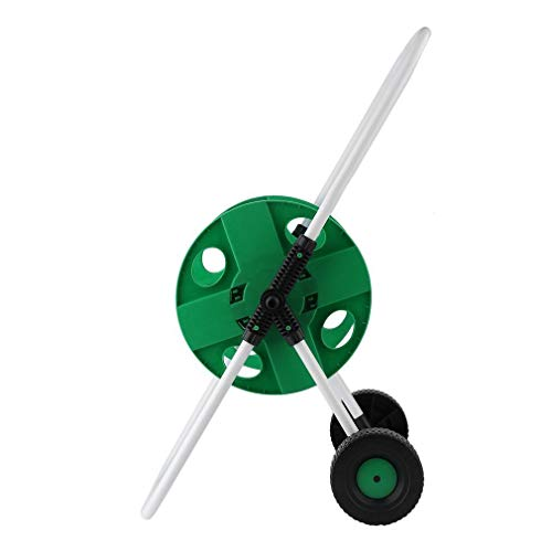 J&T Hose Reel Mobile Rolling Cart Storage Holder Outdoor Garden Water Pipe, 150 ft. by J&T Jordan (Image #7)