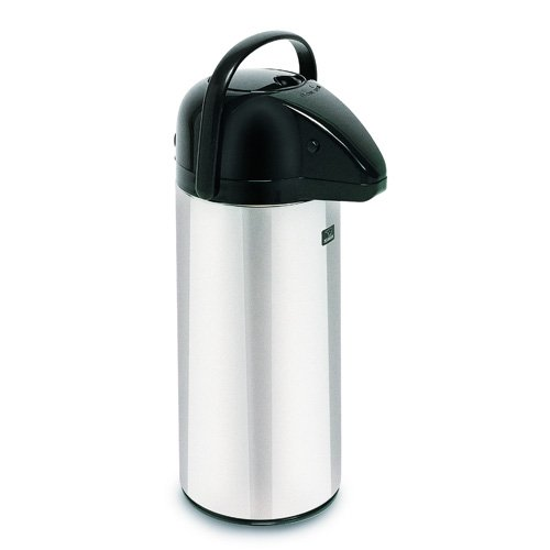Bunn Commercial 2.5 Liter 84oz Push Button Airpot Carafe 6-pack - 13041-0101 by Bunn