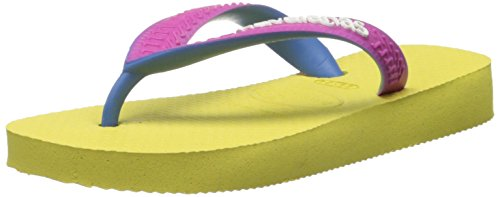 Havaianas Top Mix Thong Sandal (Toddler/Little Kid), Revival Yellow, 27 BR(11 M US Little Kid)