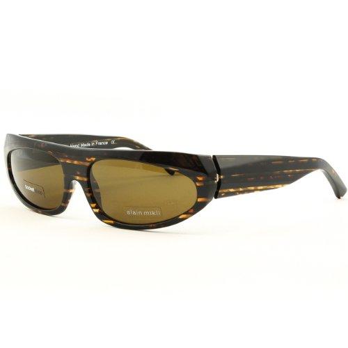 Alain Mikli Sunglasses AL 0850 Col. 0087 Brown Havana w/ Brown Polarized Lenses