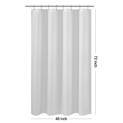 Top 10 recommendation shower stall curtain 48 x 72 for 2019