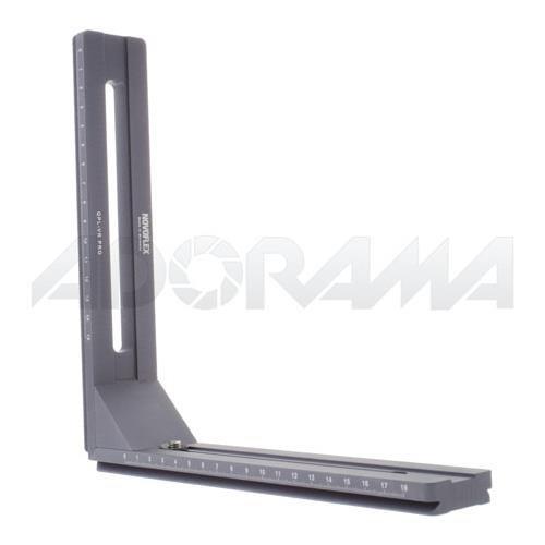 Novoflex 188x225mm Large L-Bracket with Scale for Q-Base System (QPL-VR-PRO)