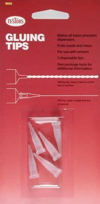 (Testor's 8805MT Precision Gluing Tips 5 Count)