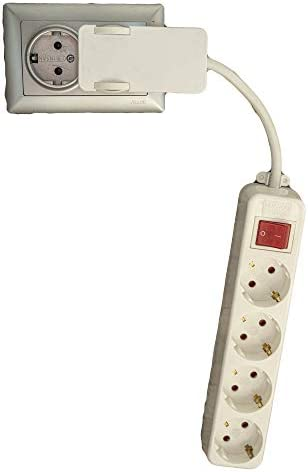 XL Multiprise 10 Prise Protection Contact 10 fois 3 m Câble Connecteur Barre