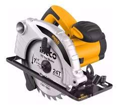 INGCO POWERTOOLS & HANDTOOLS 1200W Circular saw Blade diameter: 185x20mm With 1pcs 185mm blade With 1 set extra carbon brushes 4
