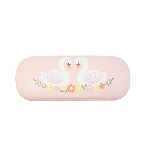 RJB Stone Freya Swan Pastel Pink Glasses Case