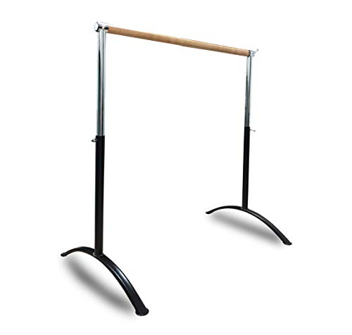 Ballet Barre Portable for Home or Studio Premium Quality freestanding Adjustable for Adults and Kids Stretch Balance Do a Barre Workout or Dance