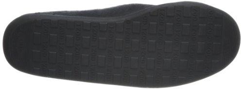 IZOD Micro Black Clog Slipper Suede Men's nBRqxvn4S1
