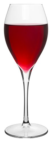 Cheap Long Stemmed Crystal Clear Boudreaux Red Wine Glass, Set of 6, 10 oz