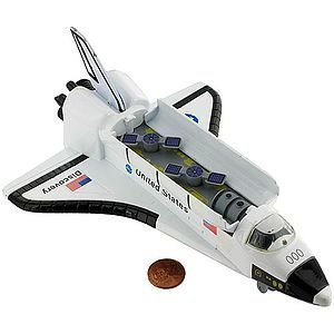 Die Cast Space Shuttle - Large 8 inch [Toy]