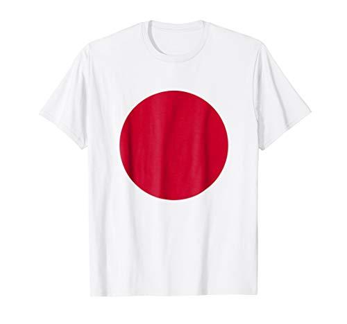 Japanese Flag T-Shirt Japan Rising Sun Nisshoki Hinomaru Tee
