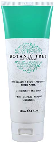 Anti Mark Cream Stretch (Stretch Mark Cream Remover-Decrease Stretch Marks in 93% of Customers in 2 Months-Helping Scars and Prevention w/Cocoa Butter, Shea,Vit E,Centella Asiatica and Avocado-The Best For Pregnancy)