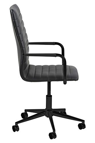 Marque Amazon – Movian Dubna – Chaise de bureau, 58 x 45 x 103 cm, Noir