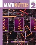 img - for Math Matters Book 2, Student Edition book / textbook / text book
