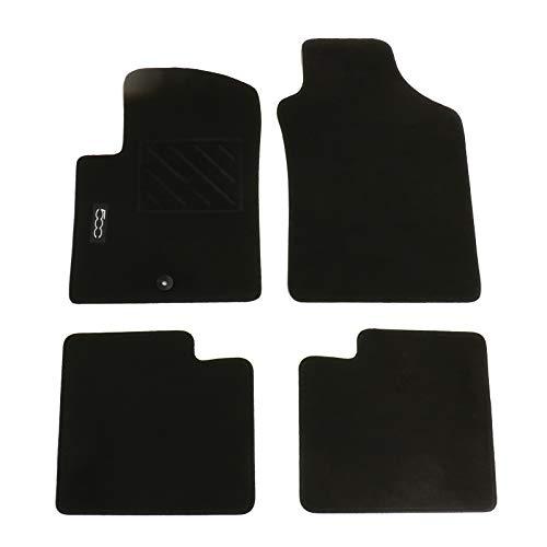 Fiat Originele vloermatten set rubber velours klittenband bescherming automat automat 71807957