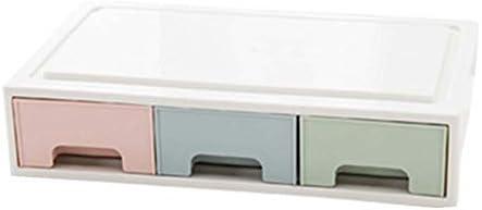 Büro Kunststoff Desktop Aufbewahrungsbox Schubladen Organizer, A-2