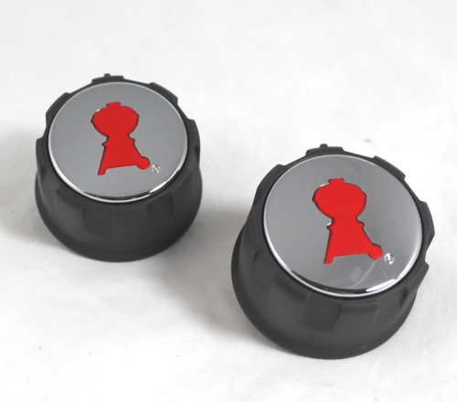 Weber Spirit 200 Replacment Gas Control Knobs 69892 (Weber Grill Knobs compare prices)