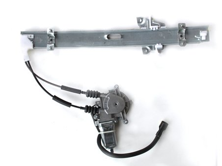 TYC 660013-G Kia Rio Front Passenger Side Replacement Power Window Regulator Assembly with Motor 13-00-660013-G
