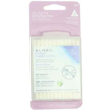 Almay Makeup Eraser Sticks, Liquid Filled Sticks 24 ea (Pack of 6)