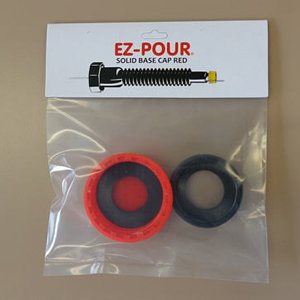 Metal Gas Can Cap EZ-Pour B6 For Metal Cans With 1 1//2 to 1 3//4 Openings Solid Base Replacement Gas Tank Cap