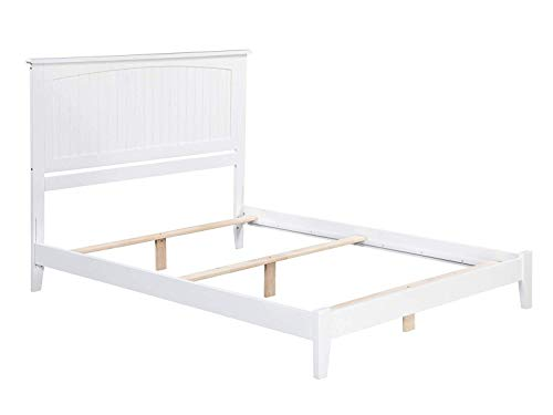 Atlantic Furniture AR8231032 Nantucket Traditional Bed, Full, White (Furniture Nantucket Style)