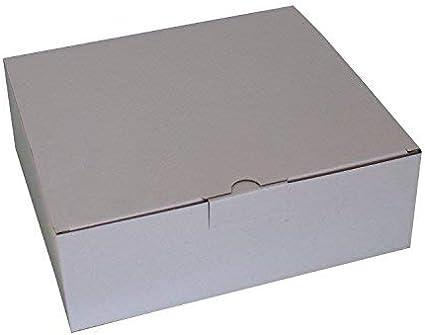 50 pieza la UPS DPD cartón 270 x 235 x 95 mm de color blanco Maxibrief Cajas de Cartón Cajas de Cartón Buzón: Amazon.es: Oficina y papelería
