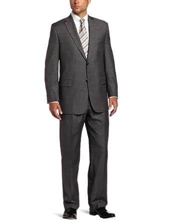 Austin Reed Men's Suit Separate Classic Fit Coat,  Sharkskin, 40 S