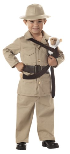 Little Boy Zoo Keeper Costme - Child Small