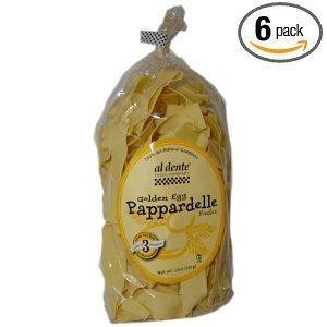 Al Dente Pappardelle Golden Egg 12 OZ (Pack of 12)